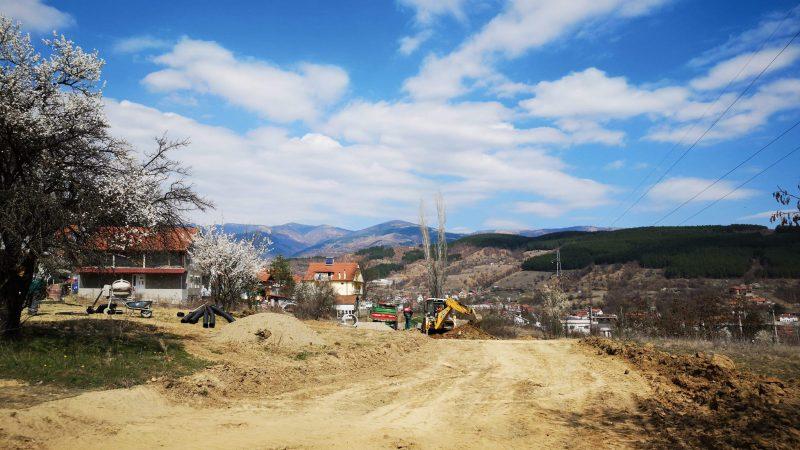 """ЈП Камена Река гради фекална канализација на улица """"Новопроектирана"""" во Стара Каменица"""