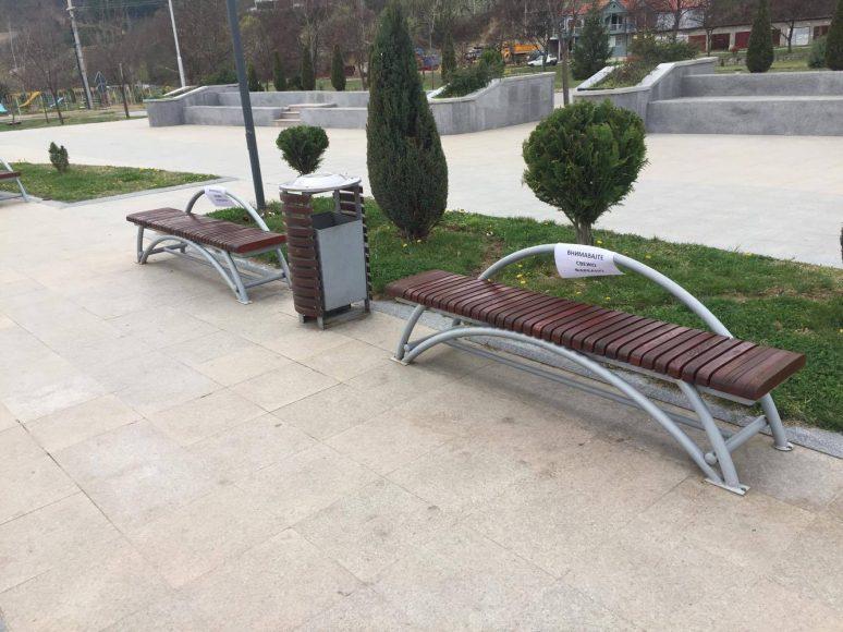 Акција за оштетени клупи