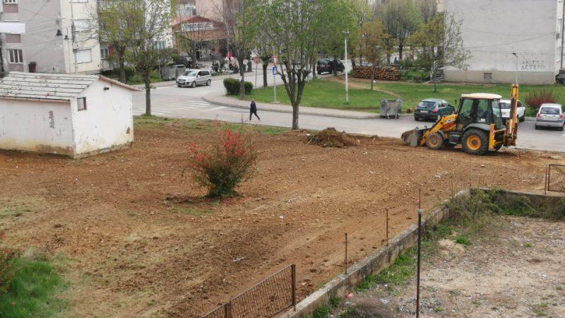 Уредување на јавни површини во централното градско подрачје на Македонска Каменица