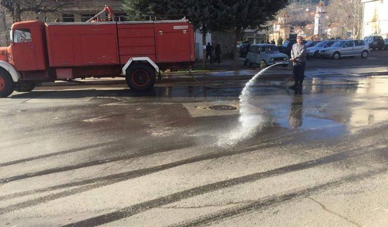 Акцијата за перење и чистење на улиците продолжува утре на Македонска и Илинденска