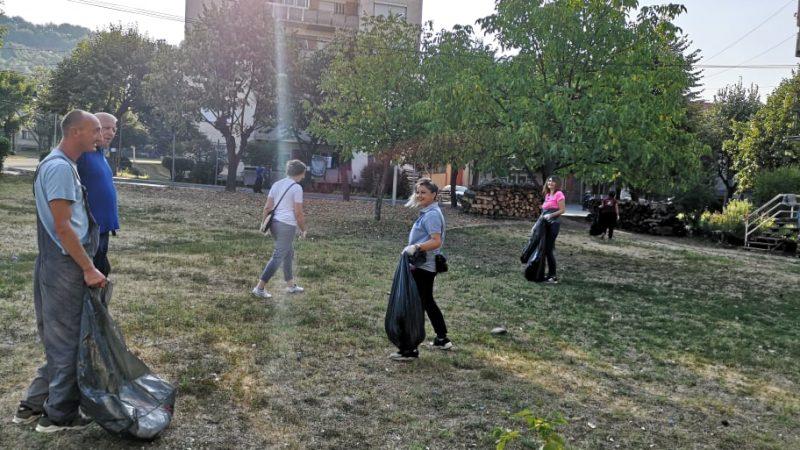 Еко-акција на ЈП Камена Река (Фото)