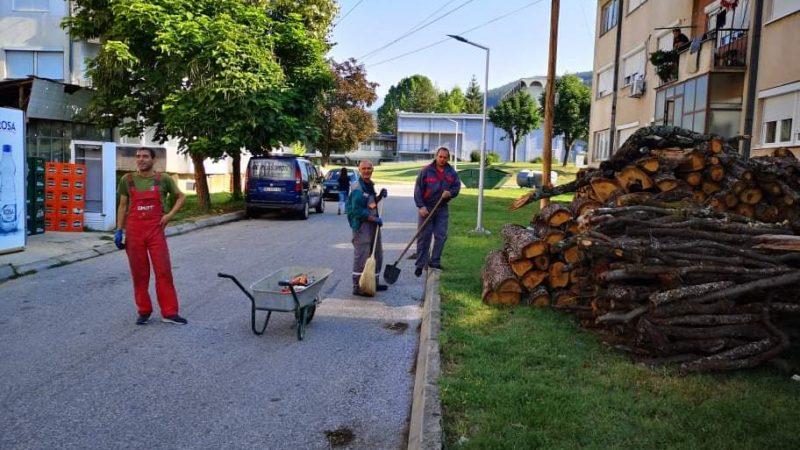 Еко акција за чистење и уредување на повеќе јавни урбани простори во Македонска Каменица